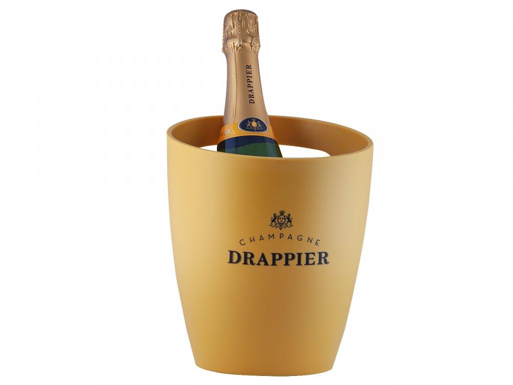 Chladič na víno Drappier (žlutý)
